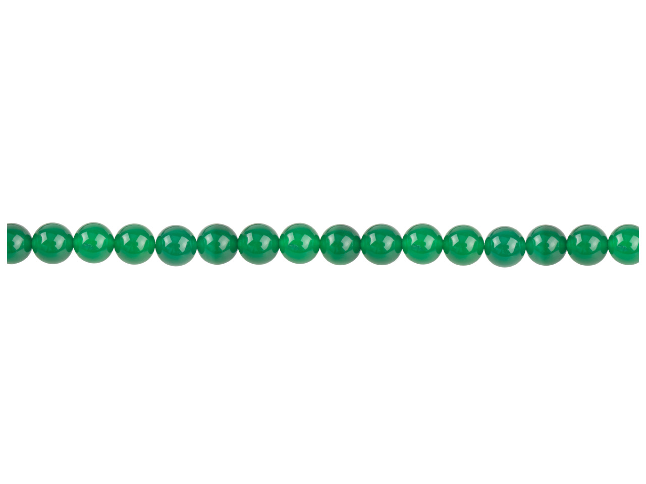Green Agate Semi Pecious Round     Beads 4mm, 16