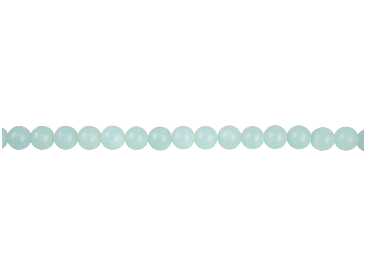 Amazonite Semi Precious Round Beads 6mm, 16