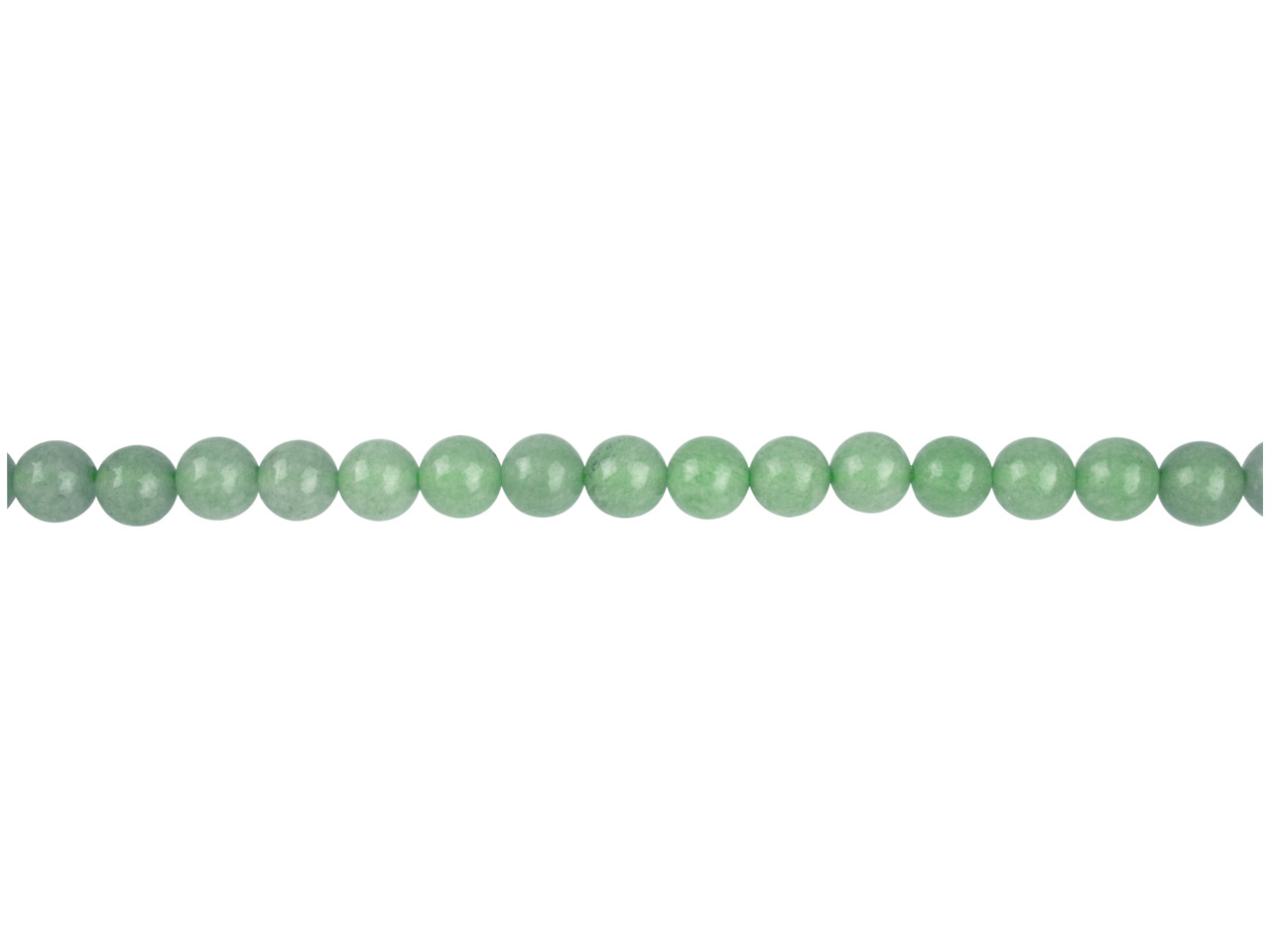 Green Aventurine Semi Precious     Round Beads 6mm, 16