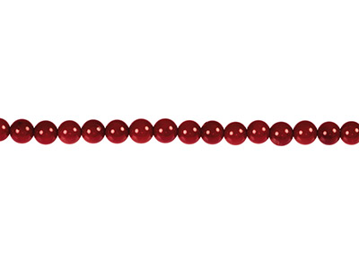 Sea-Bamboo-Coral-Round-Beads,-Red,-4m...