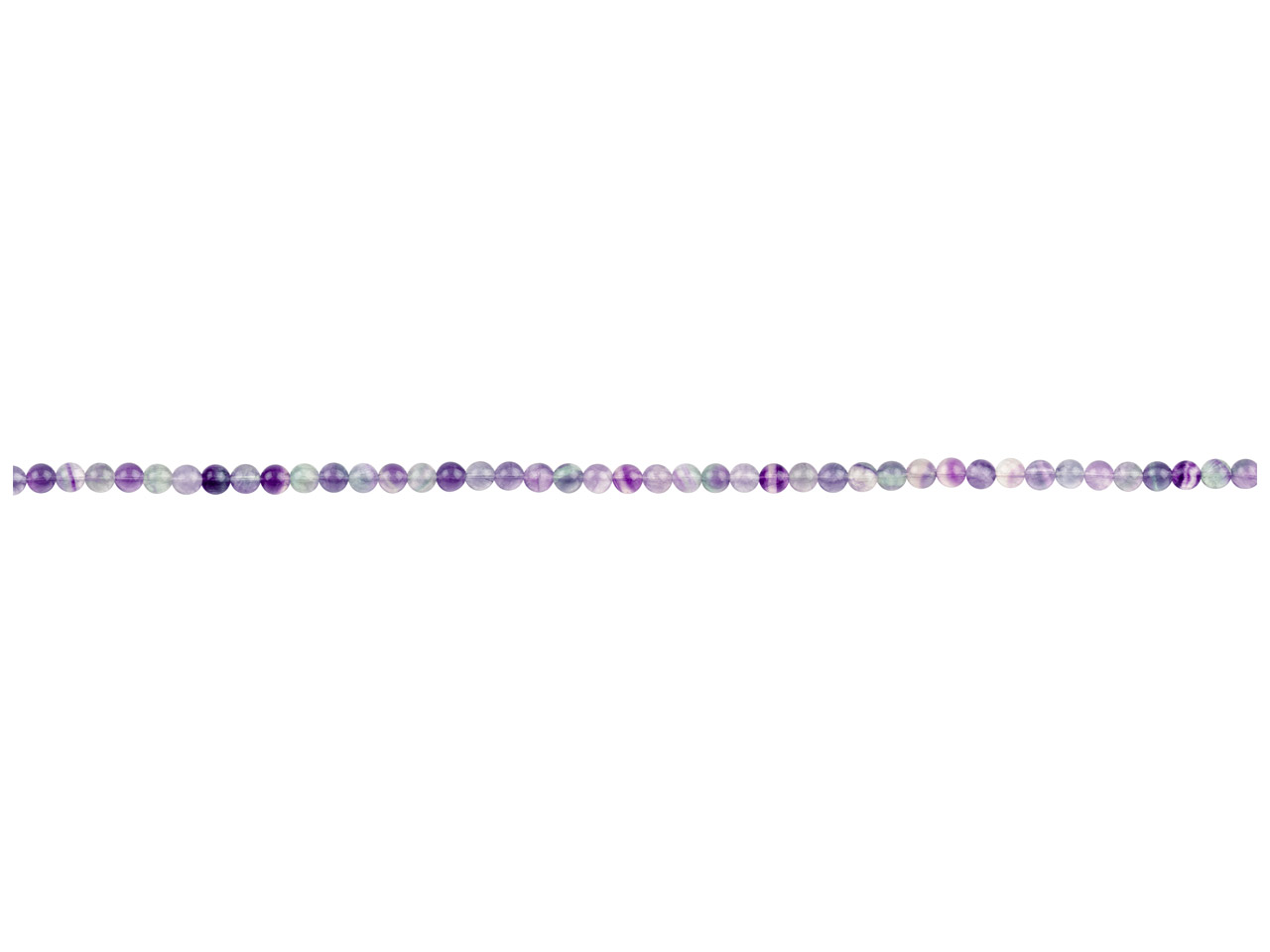 Rainbow Fluorite Semi Precious     Round Beads 8mm 16