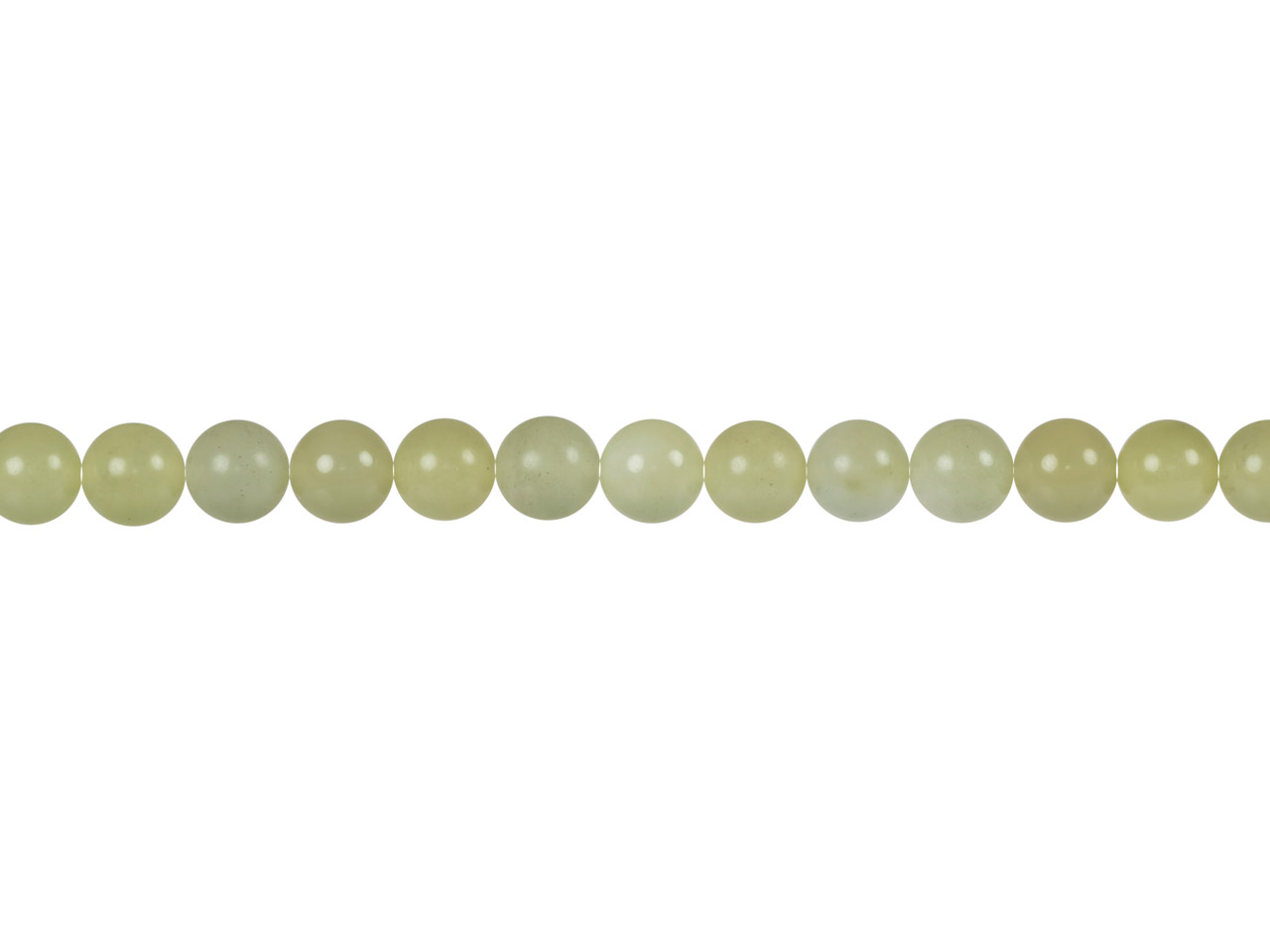Soo Chow Jade Round Beads, 8mm,    15.5