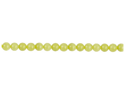 Lemon Jasper Semi Precious Round Beads 6mm 1640cm Strand