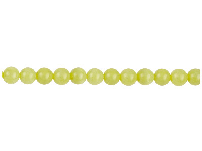 Lemon Jasper Semi Precious Round Beads 8mm 1640cm Strand