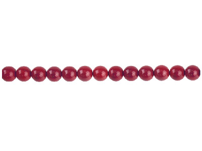 Red Jasper Semi Precious Round Beads 6mm 1640cm Strand