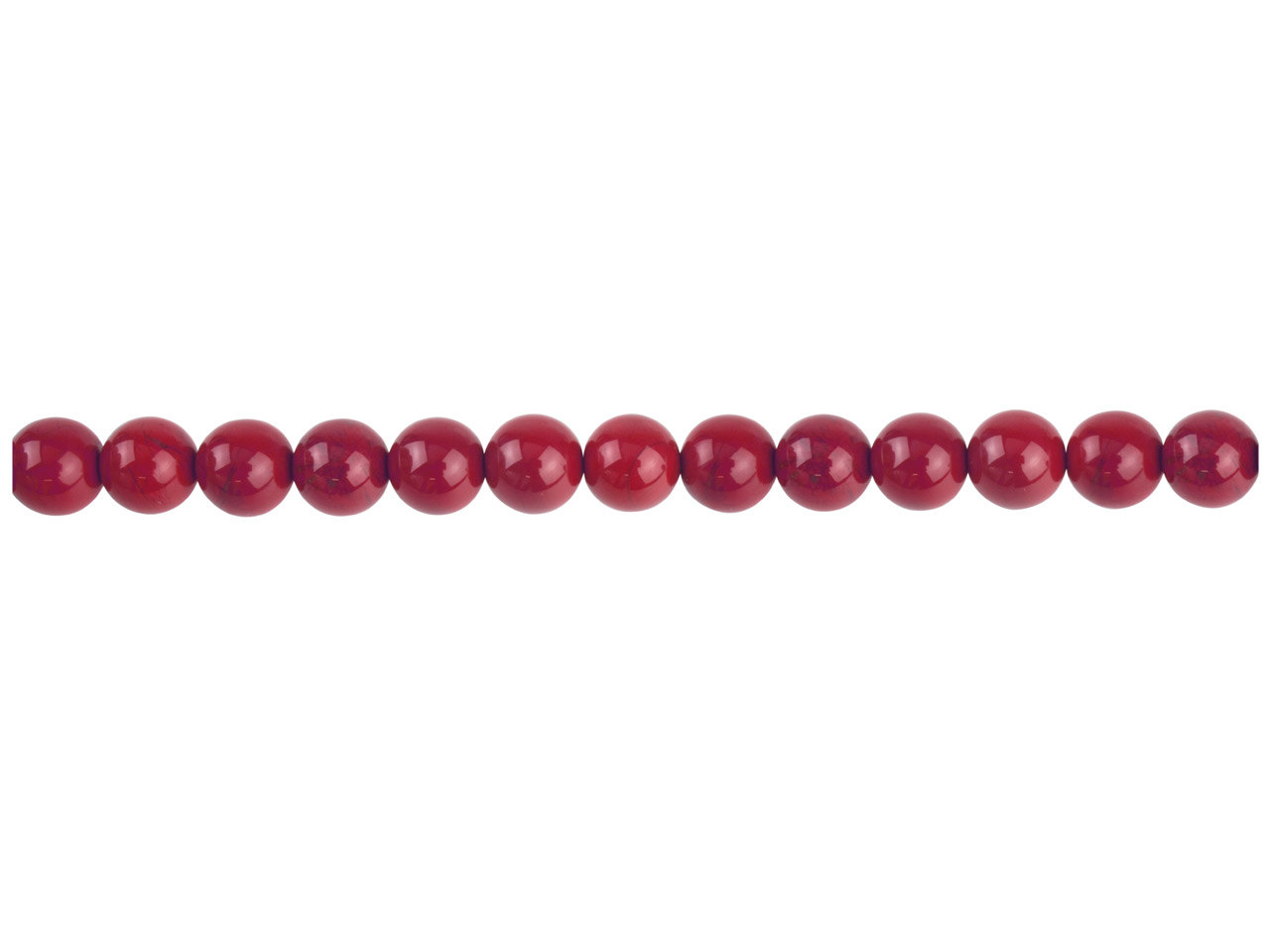 Red Jasper Semi Precious Round     Beads 6mm 16