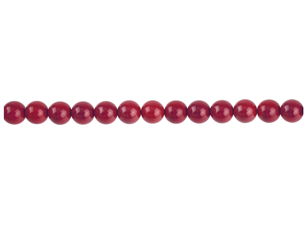 Red Jasper Semi Precious Round     Beads 8mm 16