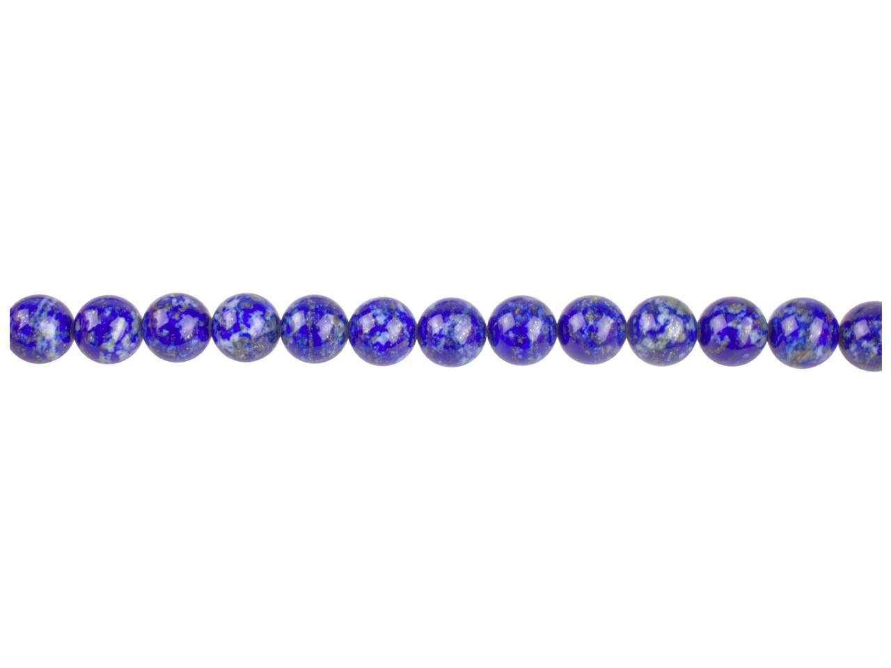 Blue Lapis Semi Precious Round     Beads 4mm 16