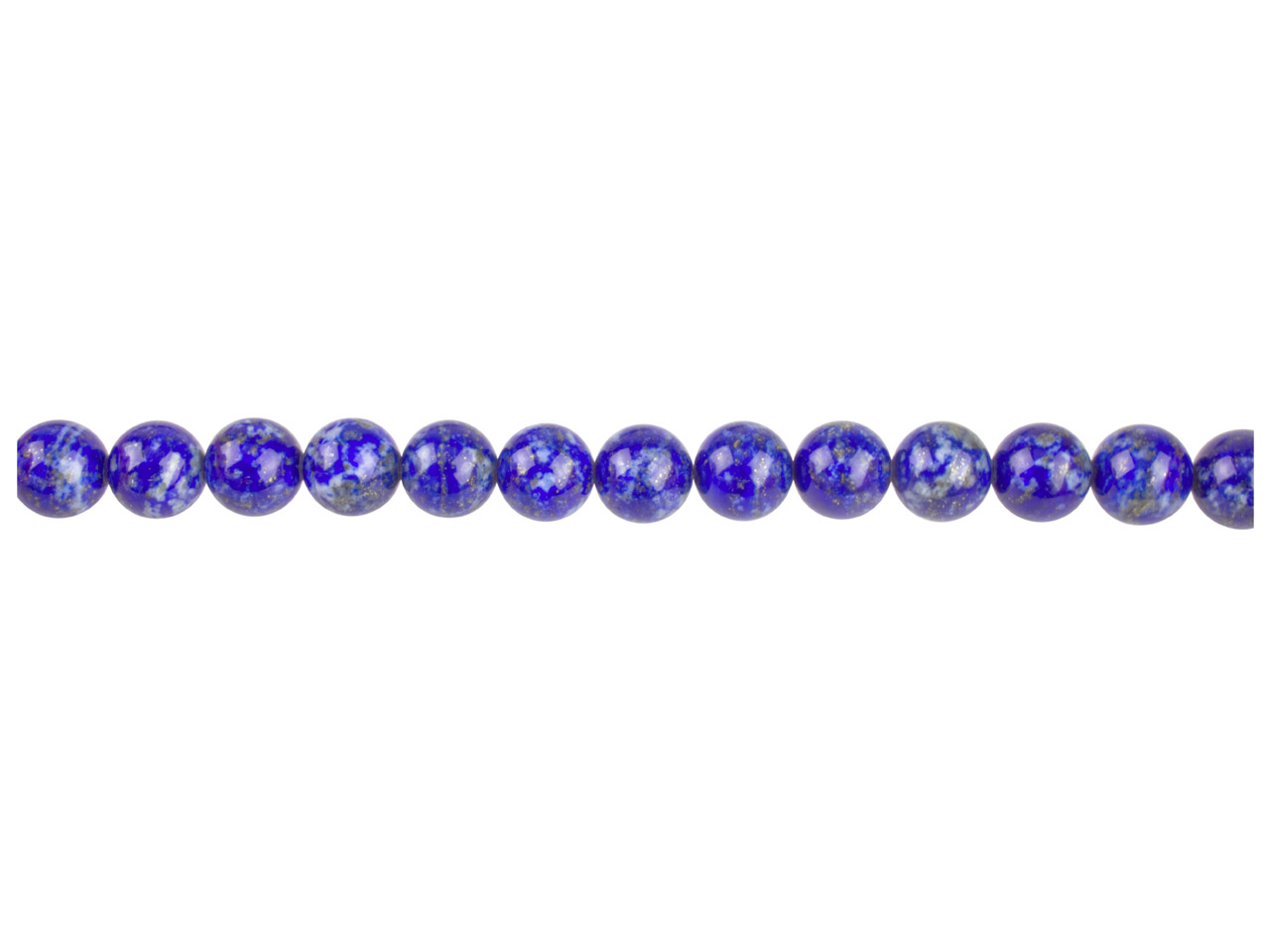 Blue Lapis Semi Precious Round     Beads 8mm 16