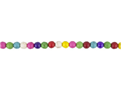 Multi-Colour-Magnesite-Round-Beads,-8...