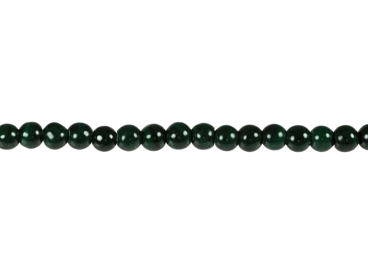 Malachite Round Beads, 4mm,        15.5
