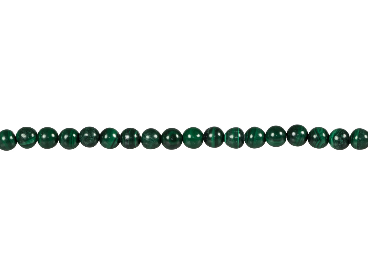 Malachite Round Beads, 6mm,        15.5