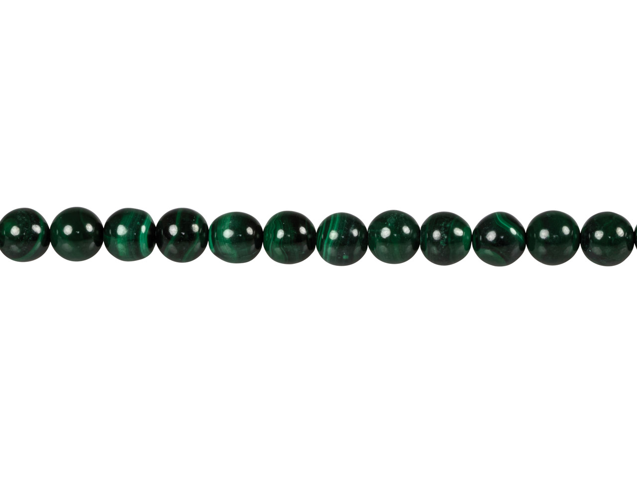 Malachite Round Beads, 8mm,        16