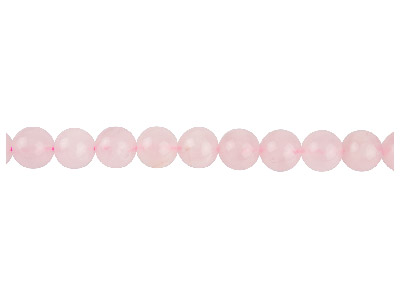 Rose Quartz Semi Precious Round    Beads 10mm, 1640cm Strand