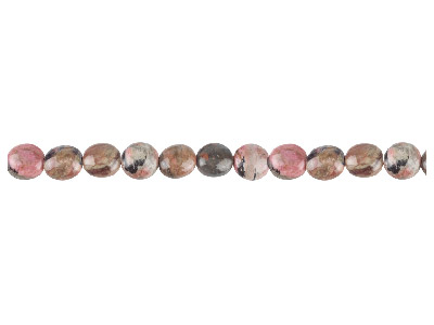 Rhodonite Semi Precious Round Beads 6mm 1640cm Strand