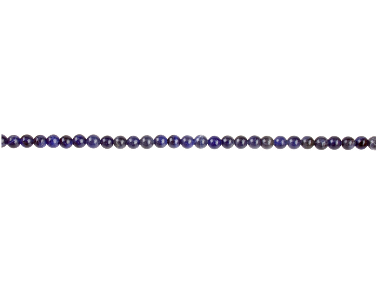 Sodalite Semi Precious Round Beads 4mm 16