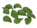 Polymer-Clay-Leaf-Beads,-Green,----15...
