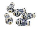 Porcelain-Vase-Beads,-Blue-And-----Wh...