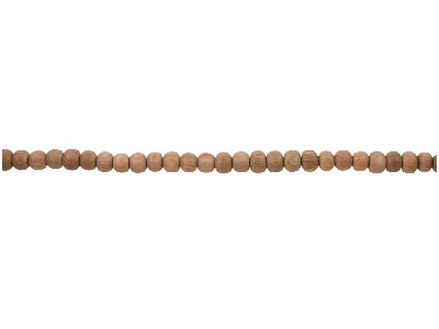 Rosewood Round Beads 4mm 1640cm  Strand