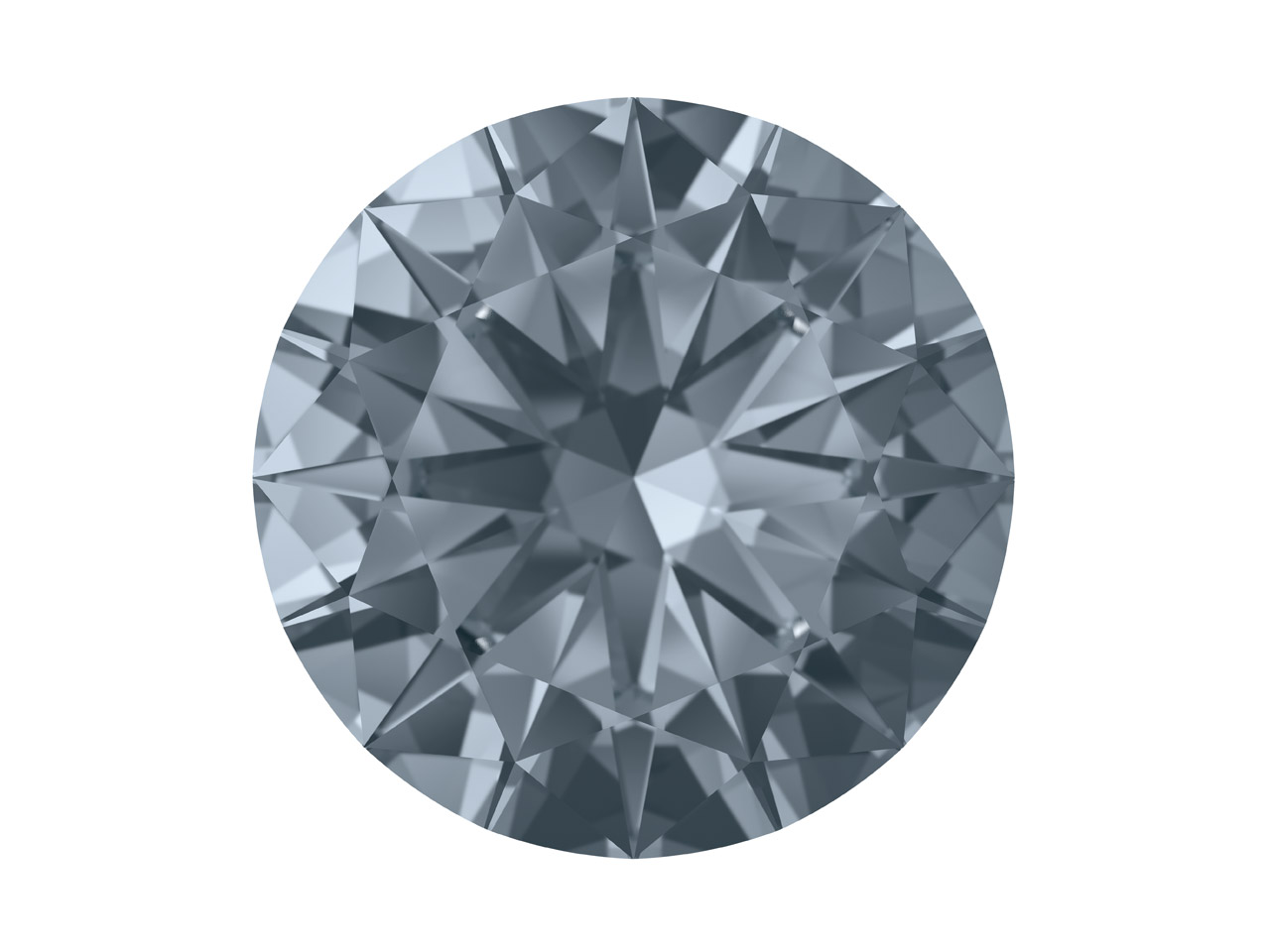 ecba7beb618f Swarovski Zirconia Nano Round Pure Brilliance Cut 1.5mm Ocean Grey Dark.  Click to see larger view