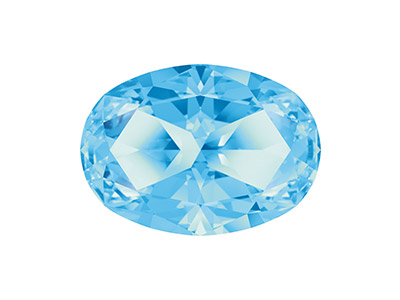 Swarovski® Genuine Topaz Star Cut
