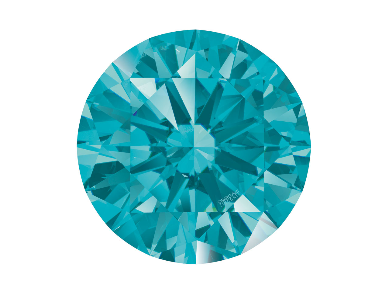 Swarovski Zirconia Round           Pure Brilliance Cut 2.75mm Mint