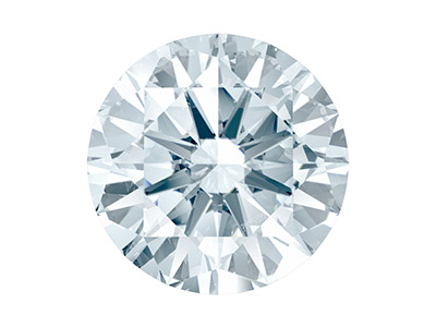 Swarovski Zirconia Round           Pure Brilliance Cut 4mm White