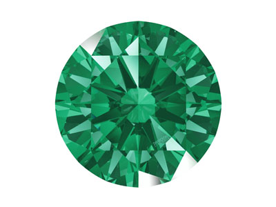 Swarovski Zirconia Round           Pure Brilliance Cut 8mm Green