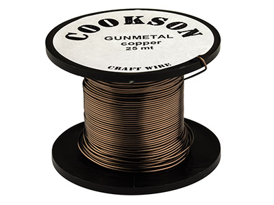 Gunmetal Enamel Wire, 0.3mm Diameter, 70m Reel