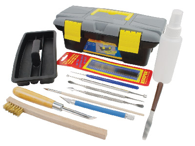 Deluxe Tool Kit For Precious Metal Clay Pmc   Or Silver Art Clay