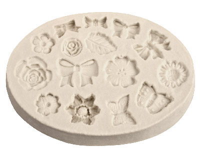 Flexible-Clay-Mould---Bows-And-----Fl...