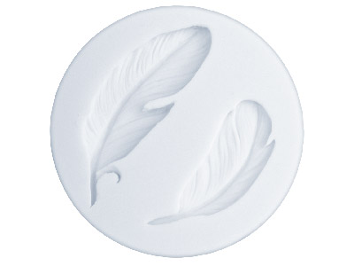 Flexible-Mould,-Feathers-Design