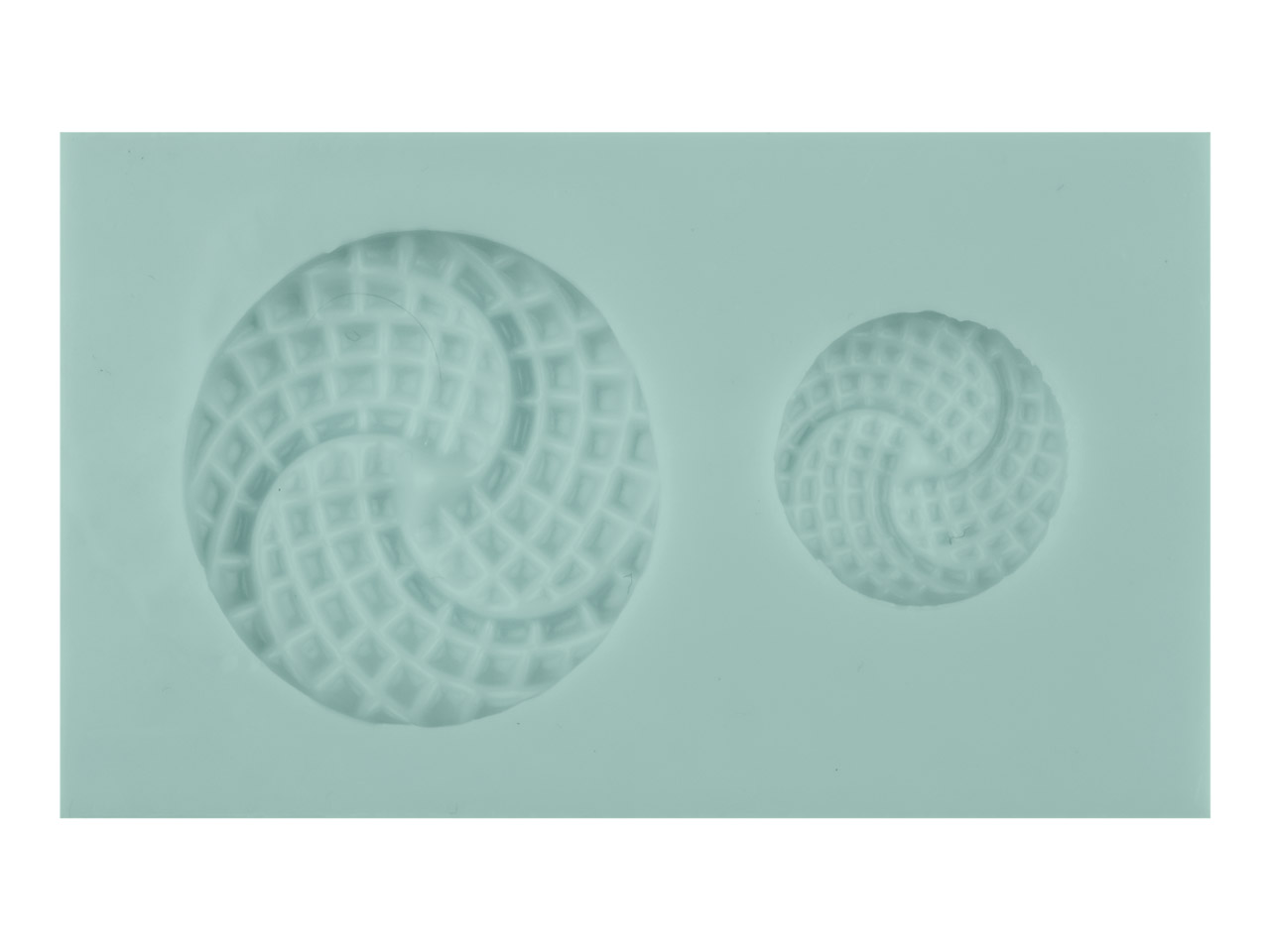 Silicone Flexible Abstract Swirl   Mould