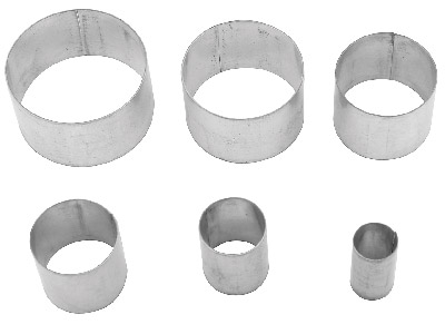 Cutter Circle Pack of 6
