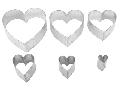 Cutter-Heart-Pack-of-6