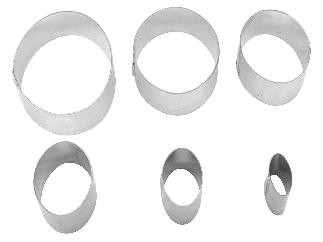 Cutter Oval Pack of 6