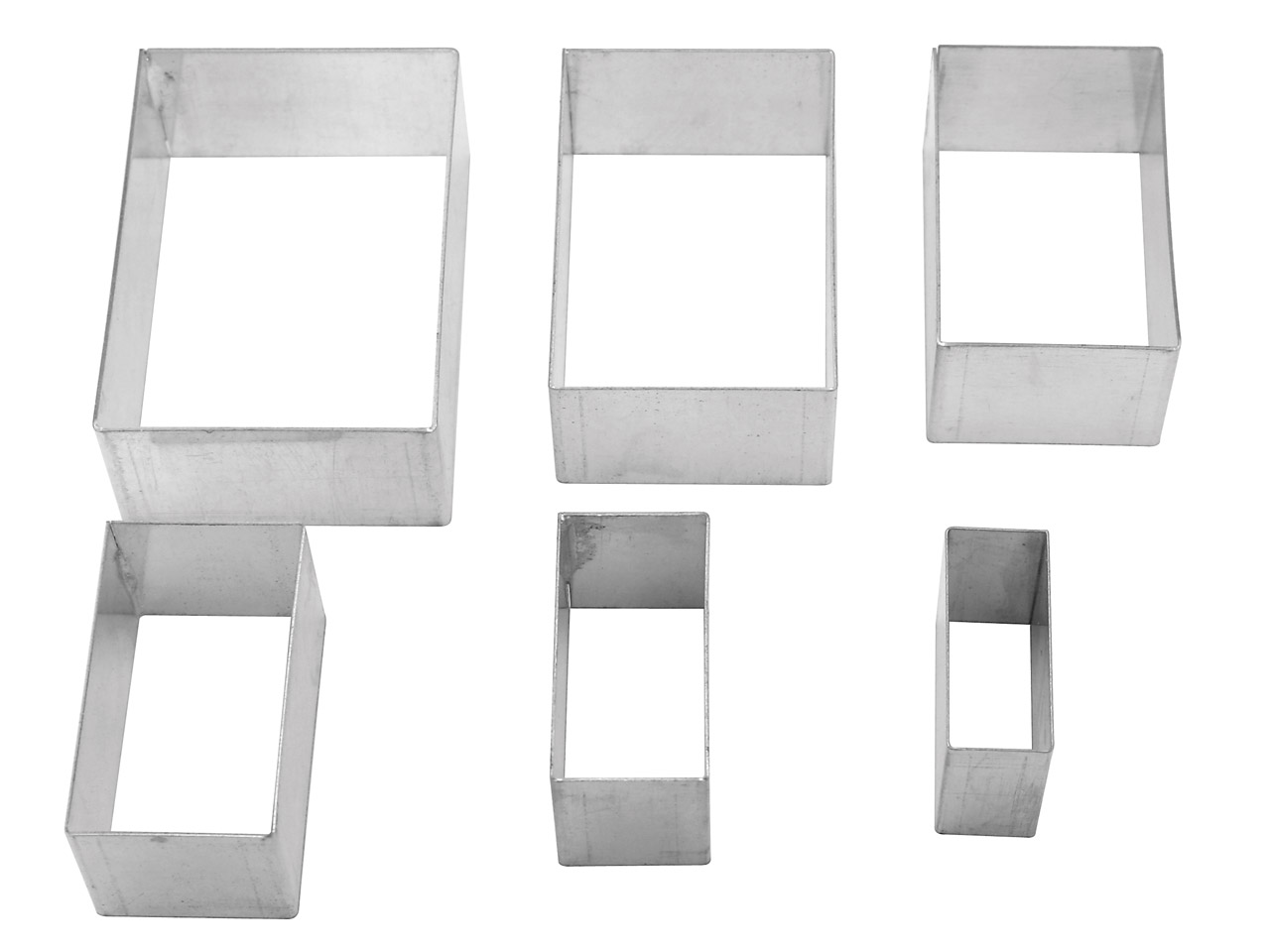 Cutter Rectangle Pack of 6