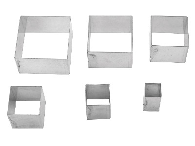 Cutter - Set Of 6, Square