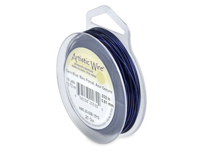 Beadalon Artistic Wire 20 Gauge    Dark Blue 0.81mm X 13.7m