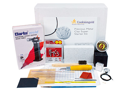 Precious Metal Clay Super Starter Kit