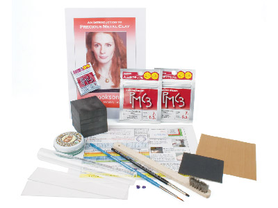 Precious Metal Clay Starter Kit Including Fine Silver Pmc3