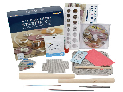 Art Clay Silver Starter Kit With Dvd