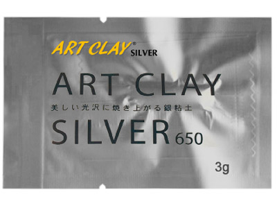 Art Clay Silver 650 3gm Silver Clay