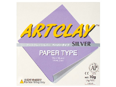 Art Clay Silver Paper Type Square75x75mm - 10g