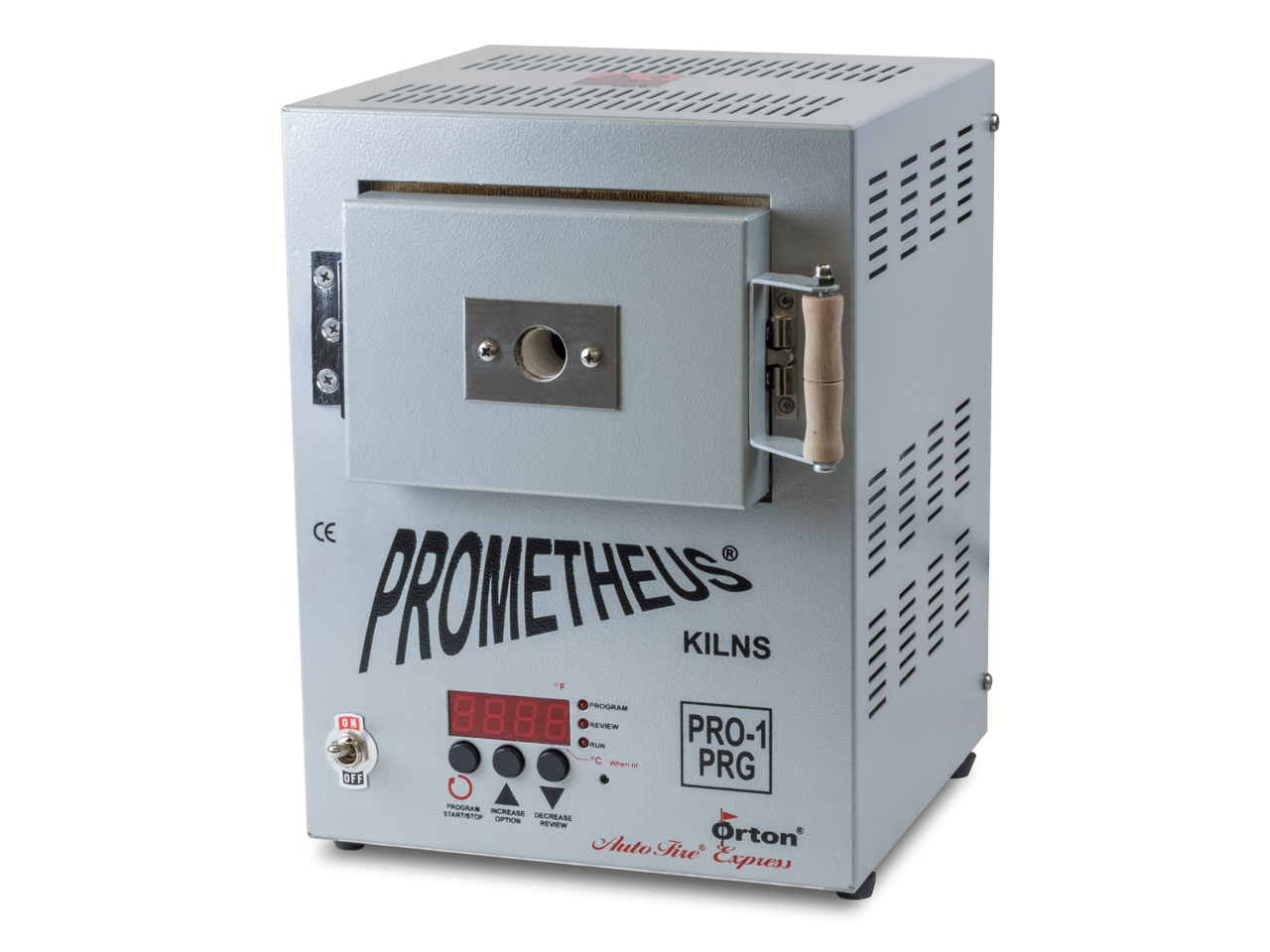 Prometheus Mini Kiln Pro1-prg      Programmable With Timer