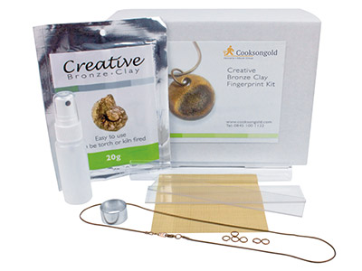 Creative Bronze Fingerprint Kit