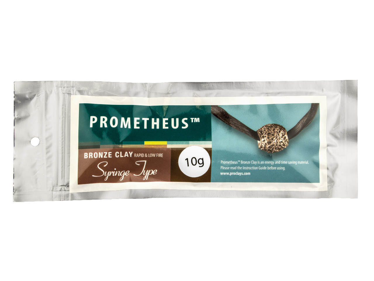 Prometheus Bronze Clay Syringe 10g With 3 Tips