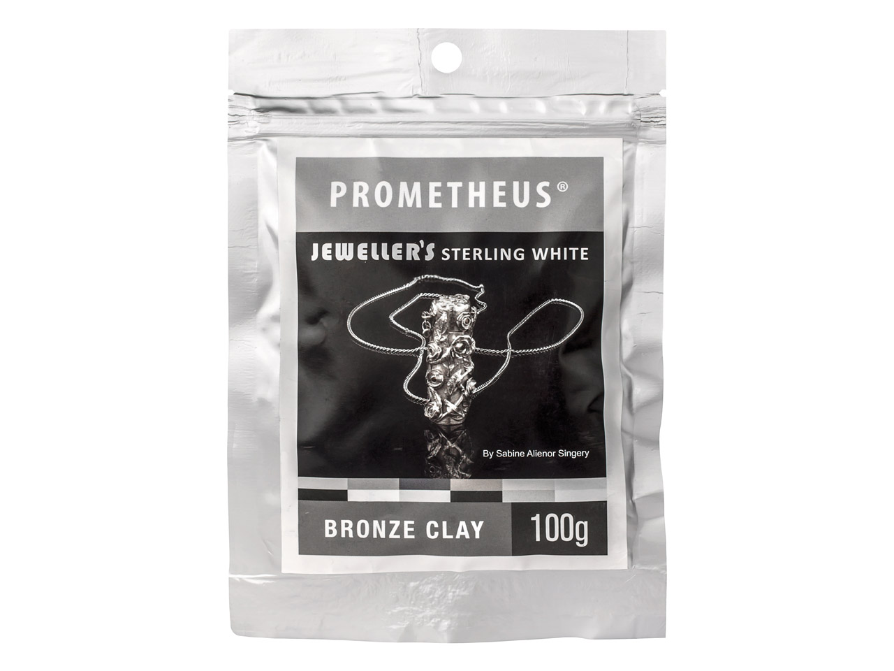 Prometheus Jewellers Sterling White Bronze Clay 100g