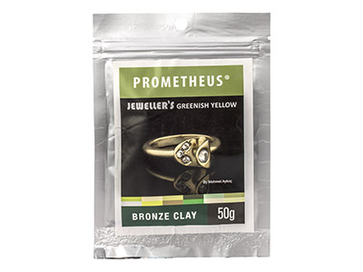 Prometheus Jewellers Greenish      Yellow Bronze Clay 50g