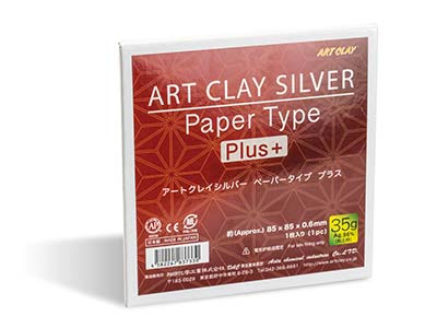 Art Clay Paper Type Plus 35g 85 X 85mm